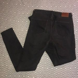 Madewell Jeans - Madewell Skinny Skinny High Riser Black Jeans 27